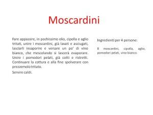 Moscardini