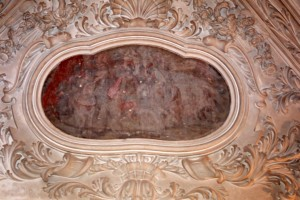 affresco  castello interno