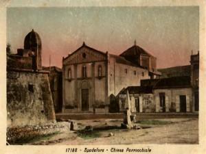 chiesa parrocchiale  e castello