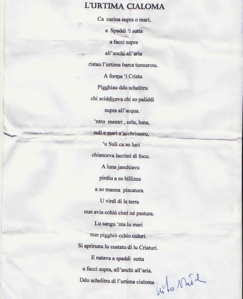 poesia Natoli